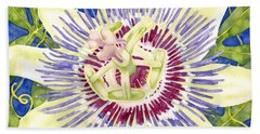 Purple Passion Beach Towel