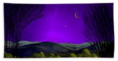 Purple Sky Beach Sheet