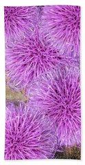 Purple Thistle - 2 Beach Sheet