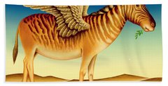 Quagga Beach Towel by Frances Broomfield