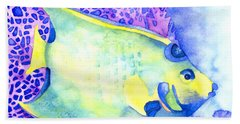 Queen Angelfish Beach Towel