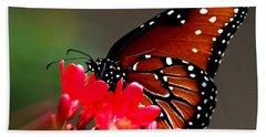 Queen Butterfly II Beach Sheet