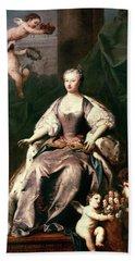 Queen Caroline Wilhelmina (1683-1737) Beach Towel