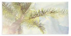 Queen Palm Beach Sheet by Cindy Garber Iverson