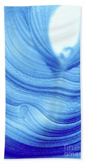Query Blue 2 Beach Towel