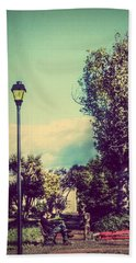 Quiet Reflections Beach Towel by Melanie Lankford Photography