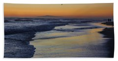 Beach Towel featuring the photograph Quiet by Tammy Espino