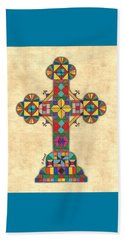 Quilted Cross Beach Towel