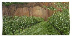 Quince Trees Beach Towel