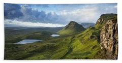 Quiraing Dawn Beach Towel
