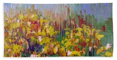 Rabbit Brush Abstracted Beach Towel