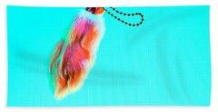 Rabbit's Foot Keychain Beach Towel