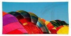 Racing Balloons Beach Towel