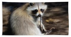 Racoon Beach Towel