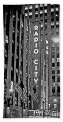 Radio City Music Hall Beach Sheet