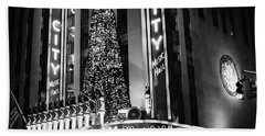 Radio City New York Beach Towel