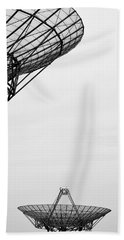 Radiotelescope Antennas.  Beach Towel