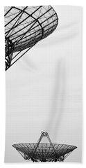 Radiotelescope Antennas.  Beach Sheet