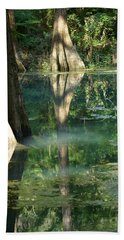 Radium Springs Creek In The Summertime Beach Towel by Kim Pate