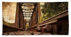 Railroad Bridge Beach Sheet