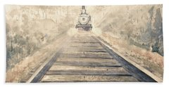 Railway Bound Beach Towel