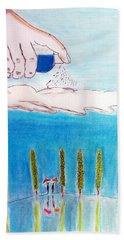 Rain Beach Towel
