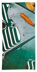 Rain Reflections Beach Sheet by Bill Owen