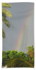 Beach Sheet featuring the photograph Rainbow Bermuda by Photographic Arts And Design Studio
