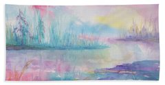 Rainbow Dawn Beach Towel