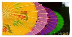 Beach Towel featuring the photograph New Orleans Rainbowellas by Michael Hoard