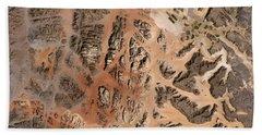 Ram Desert Transjordanian Plateau Jordan Beach Towel