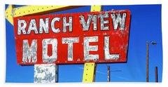 Ranch View Motel Beach Sheet