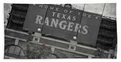 Rangers Ballpark In Arlington Beach Towel