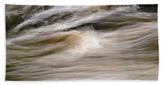 Beach Towel featuring the photograph Rapids by Marty Saccone