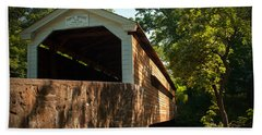 Rapps Covered Bridge Beach Towel