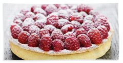 Raspberry Tart Beach Sheet by Elena Elisseeva