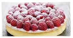 Raspberry Tart Beach Sheet by Elena Elisseeva