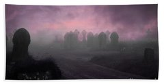 Beach Towel featuring the photograph Rave In The Grave by Terri Waters