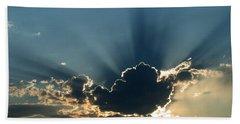 Rays Of Light Beach Sheet