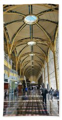 Beach Sheet featuring the photograph Reagan National Airport by Suzanne Stout