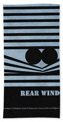 Rear Window Beach Towel