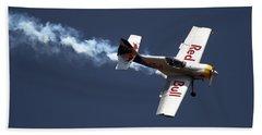Red Bull - Aerobatic Flight Beach Towel