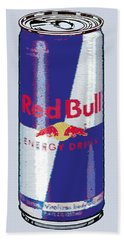 Red Bull Ode To Andy Warhol Beach Sheet