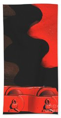 Red Gear Beach Towel
