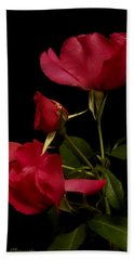 Beach Towel featuring the photograph Red Is For Passion by Lucinda Walter