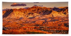 Beach Towel featuring the photograph Red Planet by Mark Myhaver
