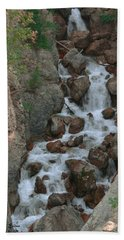 Red Rock Falls Beach Towel