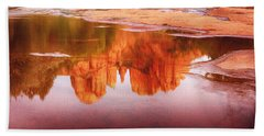 Red Rock State Park - Cathedral Rock Beach Towel