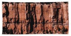 Red Rock Wall Beach Sheet