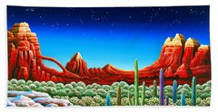 Red Rocks 5 Beach Towel